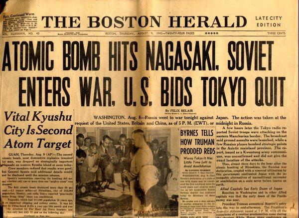 Atom bombası Nagazaki