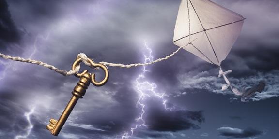 Elektriğin İcadı Benjamin Franklin