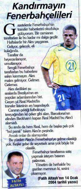 Fatih Altaylı Kandırmayın Fenerbahçelileri