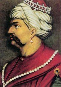 yavuz sultan selim portre resim